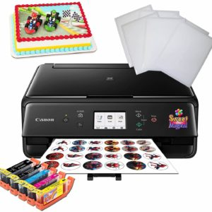 Edible printer, ink, frosting and wafer paper
